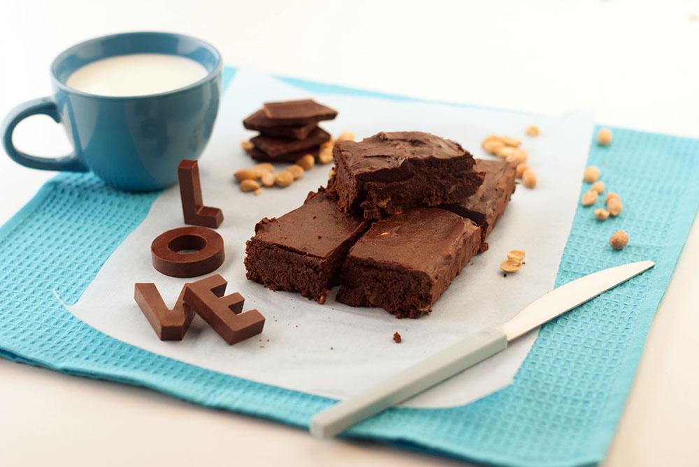 Рецепт Брауні з бананом і темним шоколадом