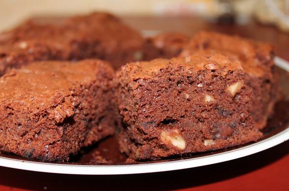 Рецепт Дієтичні Брауні з волоськими горіхами