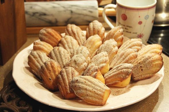 Рецепт Міні-печиво «Мадлен» по-Прустовскі
