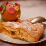 181 Рецепт Шарлотка яблучна з вершковим маслом