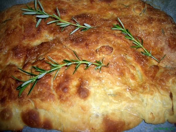 Рецепт Хліб з розмарином по-італійськи