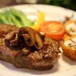 379 Рецепт Рубаний біфштекс з соєвого м'яса