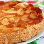 382 Рецепт Перевернутий пиріг «Бурштинова черемха»