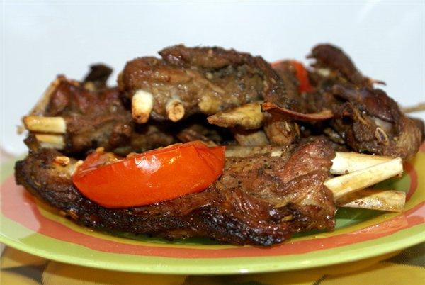 Рецепт Баранячі ребра гриль
