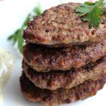 437 Рецепт Котлети з яловичої печінки