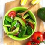 440 Рецепт Салат з авокадо з томатами