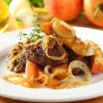 458 Рецепт Тушкована куряча печінка з яблуком