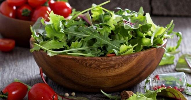 464 Рецепт Салат з руколи з огірком