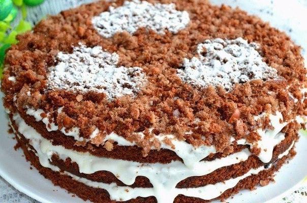 486 Рецепт Торт шоколадний «Ретро»