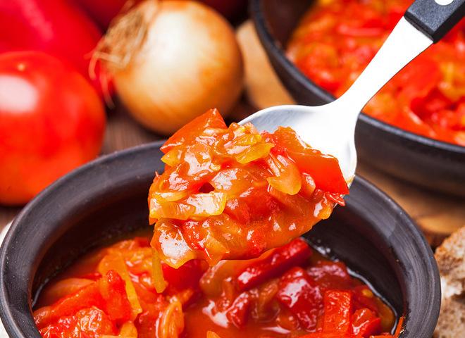 630 Рецепт Італійське лечо з перцю