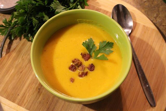 """765 Морквяний суп """"Помаранчеве літо"""""""