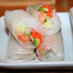 818 Спрінг-роли з овочами і рибою