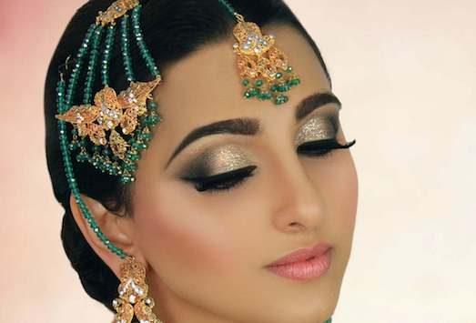 869 Як зробити справжній макіяж в індійському стилі?