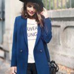 836 З чим найкраще носити синє пальто?