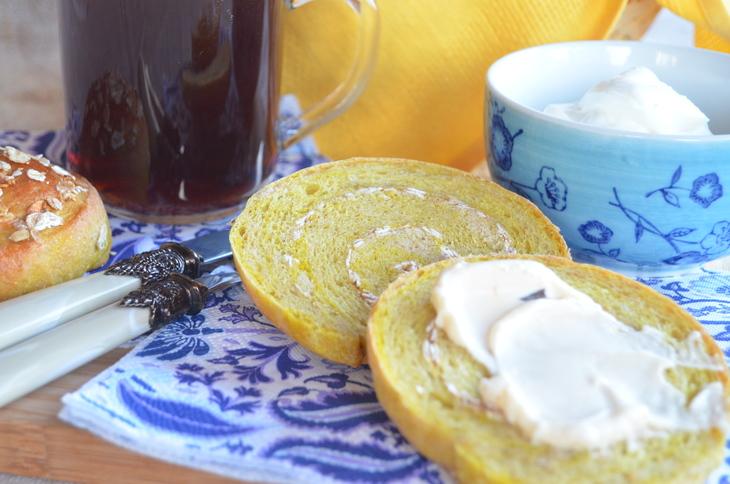 Булочки мультизлакові з мікрохвильовки до сніданку
