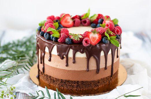 Три шоколаду — ефектний і смачний десерт