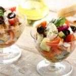 1654 Салат з куркою і фруктами