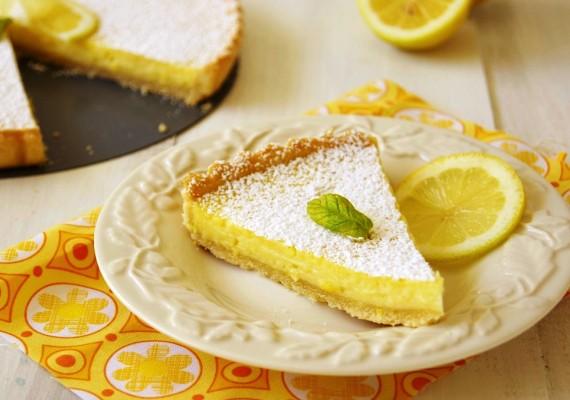 1850 Кростата з лимонним кремом