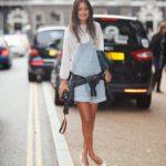 2102 Як носити модні туфельки на низькому каблуці?