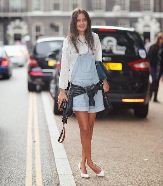 Як носити модні туфельки на низькому каблуці?