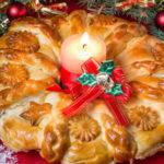 2380 Пиріг '' Різдвяний вінок ''