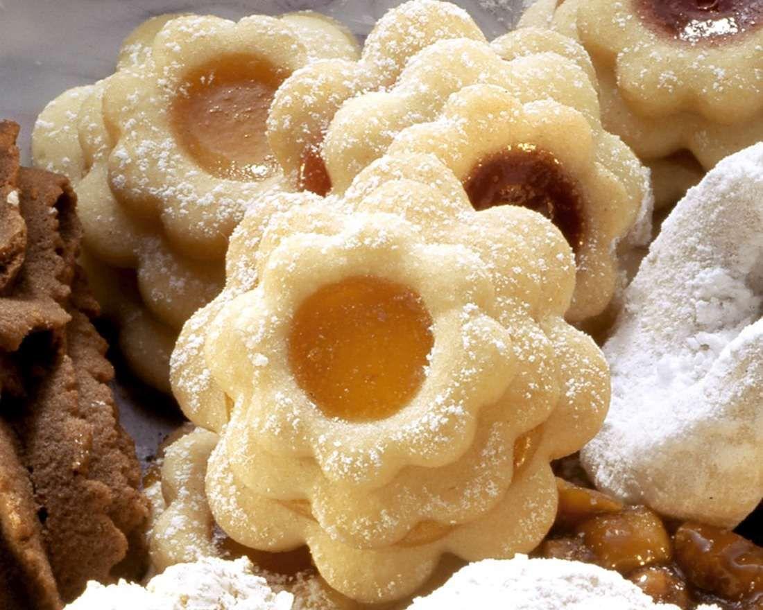 2570 Індійські тістечка з абрикосовим джемом