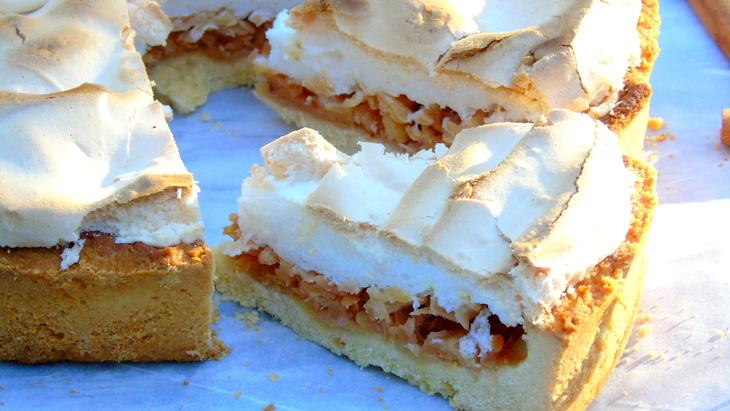 Пиріг з айвою по-угорськи