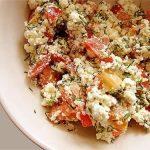 2698 Помідорний салат з крупнозерненним сиром
