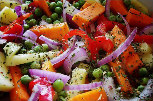Рагу з гарбуза з овочами