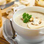 2758 Суп-пюре квасолевий з грибами