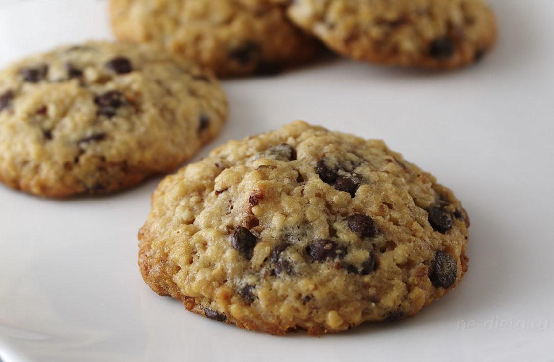 2785 Рецепт Вівсяне печиво з сухофруктами