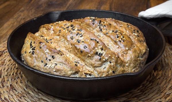 Рецепт Зерновий хліб з додаванням трьох видів борошна