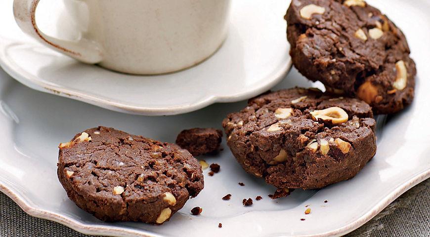 2805 Рецепт Біскотті з шоколадом і фундуком