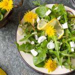 2864 Рецепт Салат з кульбаб
