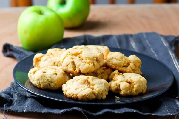 2884 Рецепт Яблучно-горіхове печиво