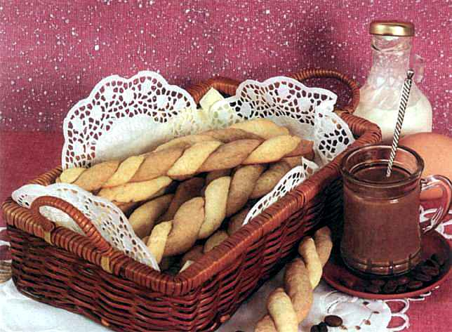 Рецепт Плетінка зі згущеним молоком