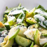 3003 Рецепт Салат з авокадо з огірком