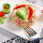3058 Рецепт Салат із зеленого горошку і яблука