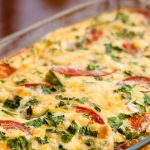 3073 Рецепт Кабачки, запечені з помідорами і зеленню