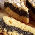 3076 Рецепт Маковий пиріг з штрейзелем