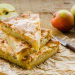 3080 Рецепт Простий пиріг з яблуками і джемом