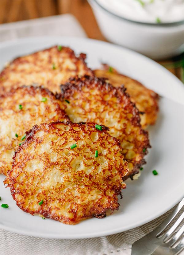 3091 Рецепт Картопляні деруни з кабачком