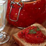 3097 Рецепт Томатний джем з пекучим перцем