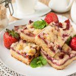 3106 Рецепт Сливові штрейзельні тістечка