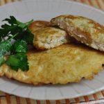 3123 Рецепт Курячі відбивні в картопляному клярі