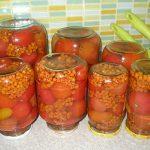 3125 Рецепт Помідори з червоною горобиною