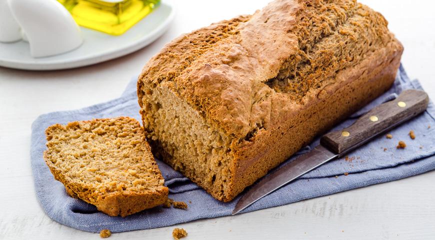 Рецепт Хліб з гречаними і вівсяними пластівцями