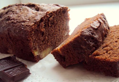 Рецепт Соковитий шоколадний кекс на йогурті