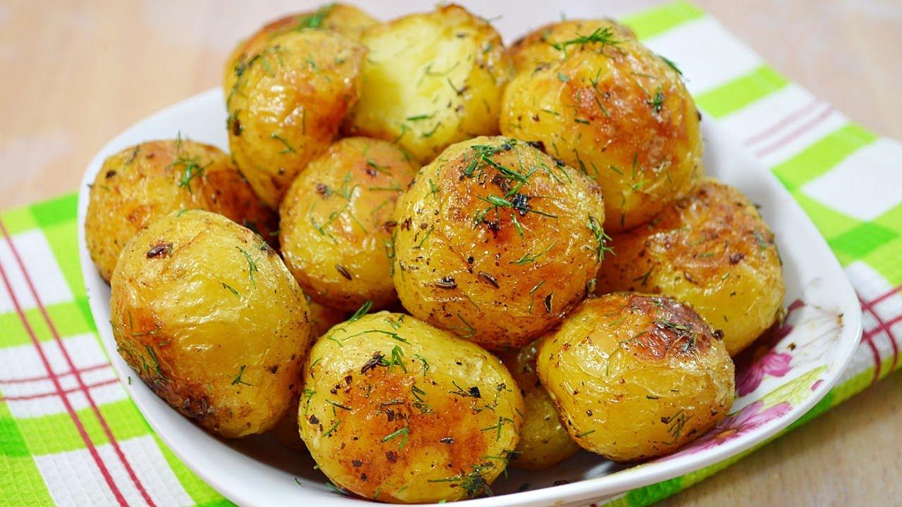 3231 Рецепт Запечена картопелька з часником і солодкою паприкою