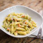 3243 Рецепт Паста з рікоттою і сушеними помідорами